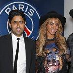 Jay-Z et @Beyonce étaient présents hier soir au Parc des Princes pour le match de gala face au @FCBarcelona ! #PSGFCB http://t.co/nkiyieG9QO