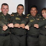 El general Guatibonza y la @PoliciaBogota se unen a la jornada @24_0 #TodaBalaEsPerdida http://t.co/fHiZb8bb19