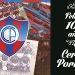 ¡Telefuturo felicita al Club Cerro Porteño por sus 102 años de vida! ¡Salud Ciclón de Barrio Obrero! @twpyazulgrana http://t.co/CNadPfa0Kk