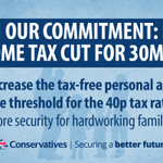 RT @David_Cameron: My commitment to 30 million hardworking taxpayers: the @Conservatives will make sure your hard work is rewarded. http://t.co/WgREWfw4Sl