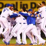 It took the Kansas City @Royals 29 years to return to the MLB Playoffs.  They made it worth the wait last night. http://t.co/b1PEw2yWHq