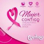 En DIF Municipal Durango, en octubre nos pintamos de rosa para apoyar la lucha vs el cáncer de mama! #MujerContigo http://t.co/Fl54SRkn6E