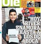 RT @marcelosottile: Teo Gutiérrez y un guiño enorme para los hinchas es la tapa de Olé. Ya picantea el Superclásico. http://t.co/vD7whk0pkD