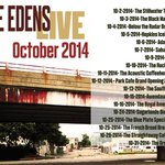 @pierceedens is hitting the road hard. Oct 1 - 11 with @ScottLowSongs #LiveMusic #AthensGa #HAP http://t.co/6ADUB5CGbJ
