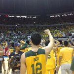 Mac Belos 3pts buzzer-beater against La Salle is now in the history books! Its FEU vs NU in the #UAAP77 Finals! http://t.co/Rwo3f8zneE