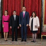 RT @CasaReal: Almuerzo con motivo de la visita oficial del Presidente de Honduras a España. http://t.co/UJLRQm8LTJ http://t.co/pST6CAbnL4