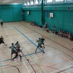 In the Mixed Handball, Beckett currently lead 11-6 #LeedsVarsity http://t.co/NZD86aI6Xa