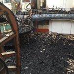 RT @SamCaseyYEP: The former dancefloor littered with charred debris after #Majestyk fire @LeedsNews http://t.co/4QkCFV3P2i