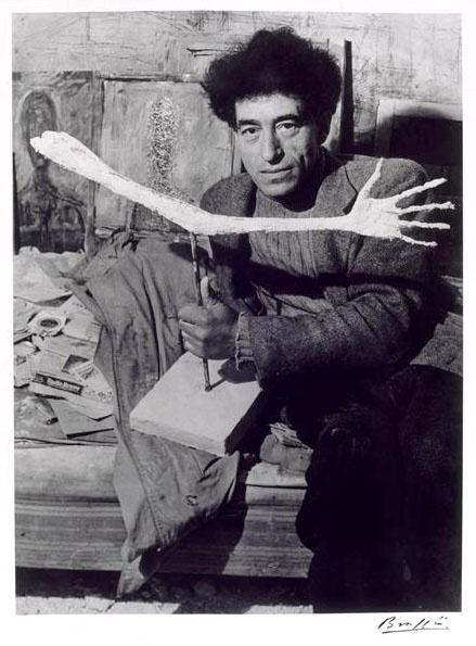 "Giacometti on the #art life: ""Basically I no longer work for anything but the sensation I have while working."" #flow http://t.co/GrUJ5dRRxi"