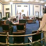 RT @FOX19Jody: Look inside Tracie Hunters trial court. Trial judge handling docket hearings ahead of trials start at 10: http://t.co/veVlpE6tNR