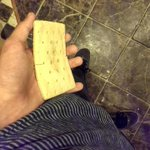 I felt my iPhone 6 bend in my pocket!! Then I realized it was just a Poptart and I dont have an iPhone 6. http://t.co/jJrd6LMvZl