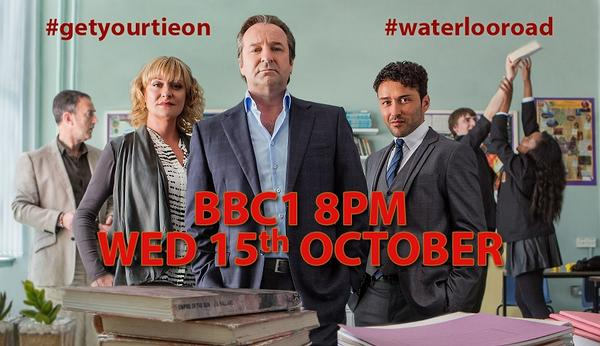 IT'S OFFICIAL!  Wednesday 15th Oct 8pm @BBC1: #getyourtieon - we're going back to school! #waterlooroad http://t.co/mq6ZufLn13