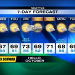 RT @Q13Tim: Looking like a pretty nice #October forecast for #Seattle. I totally heart this kind of weather. #Q13FOX http://t.co/Uh8agSYuTz