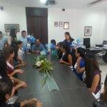 RT @ArturoVinuezaL: Alcalde recibe a candidatas Reina de #Manta @Oromar_TV @Modelo977 @ErikaIto_ http://t.co/CFFs3Gh7Pg
