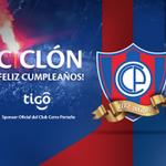 RT @TigoParaguay: Hoy se cumplen 102 años de la fundación de Cerro Porteño, el Club del Pueblo. ¡Salud Ciclón de Barrio Obrero! http://t.co/1UzM78nani
