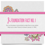 Breast Cancer Awareness Month: Well be sharing facts about our Foundation throughout October. http://t.co/WtQrGiJstB http://t.co/hPPv8BcKJW