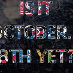 Now that its October, we have a new question to ask... http://t.co/EyU4fXcdAg