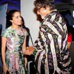 Amitabh Bachchan and Shraddha Kapoor in conversation at a screening of 'Haider'.