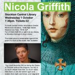 Looking forward to @nicolaz #Stockton Central Library tonight - another sold out author event! @stocktoncouncil http://t.co/0ca0exS68d