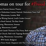 Starting the book tour for #Proud this weekend! Check out all the events here: http://t.co/1yq83xZMGE
