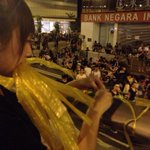 Yellow ribbons in Admiralty #occupyhongkong #occupyhk #occupycentral http://t.co/NrD7tiV2M4