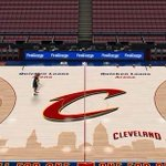 The new Cavs floor design will also be available in NBA 2K15. http://t.co/1tY5noPOjg