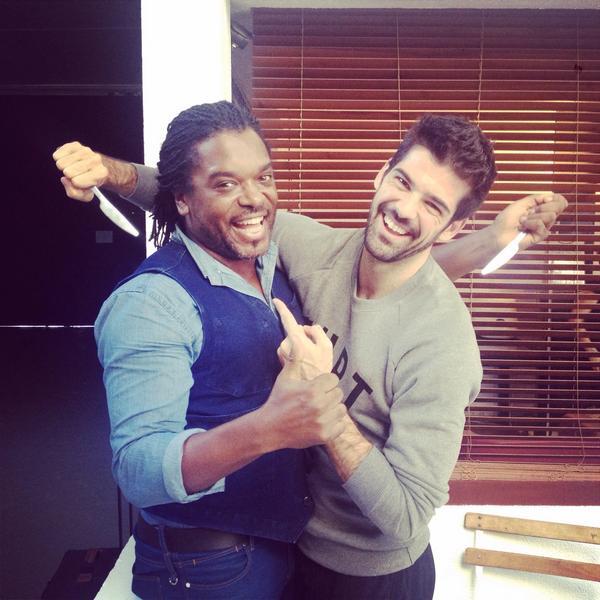 #CestOfficiel Les deux meilleurs amis de @dals_tf1 #DALS @tf1 #DALS5 #DALSDAY  Pas de compétition! @kavanaghanthony http://t.co/4kRhDuDiRE