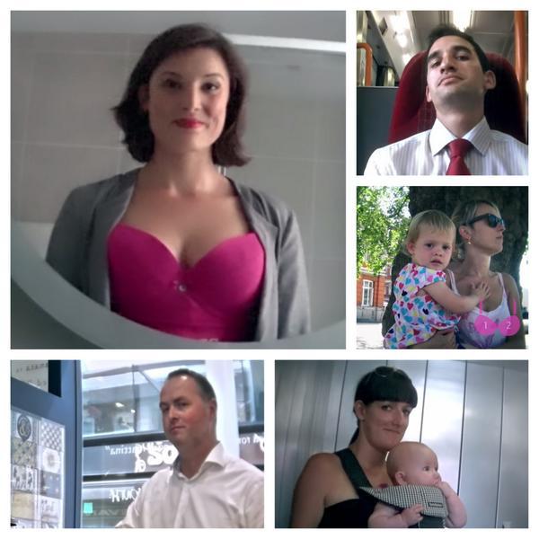 Breast peek photo