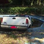 Mount Pleasant police looking for man who drove a truck into a pool Wednesday. http://t.co/uLGtnMge53 http://t.co/Xt3ClhNQQH