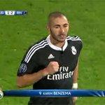 RT @casadelfutbol: No habían pasado ni 3 minutos desde su entrada en el campo y marca Benzema (1-2). #SoñadoresBlancos http://t.co/ItYhCZgZxm