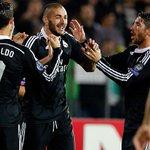 FT: Ludogorets 1-2 Real Madrid (6' Marcelinho   25' @Cristiano, 76' @Benzema). #LudogoretsRealMadrid #RMLive http://t.co/tRgm7khMiC