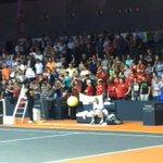 RT @GraveyardFilip: Last moment on court for Olivier Rochus. Small guy, big career. He will be missed in Belgian tennis... http://t.co/1a0etT7ki2