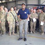 .@alroker kicks off a @the_USO comedy tour #ShineALight   Donate: http://t.co/Q4N55b9Bei http://t.co/fjBBcRuUbV http://t.co/LSexC44exV