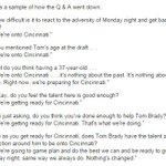 "Cincinnati it is! LOL ""@OnlyInBOS A sample of the Belichick Q&A this morning: http://t.co/XWCNMsHwJy by @kguregian http://t.co/qrT0fCF4qw"""