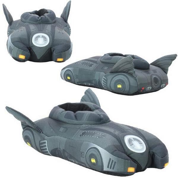 #Batmobile #Slippers: The Comfy Shoes Your Feet Deserve: You wouldn't leave the Batcave in... http://t.co/4vyM25Y7TE http://t.co/COeSvwyeQY