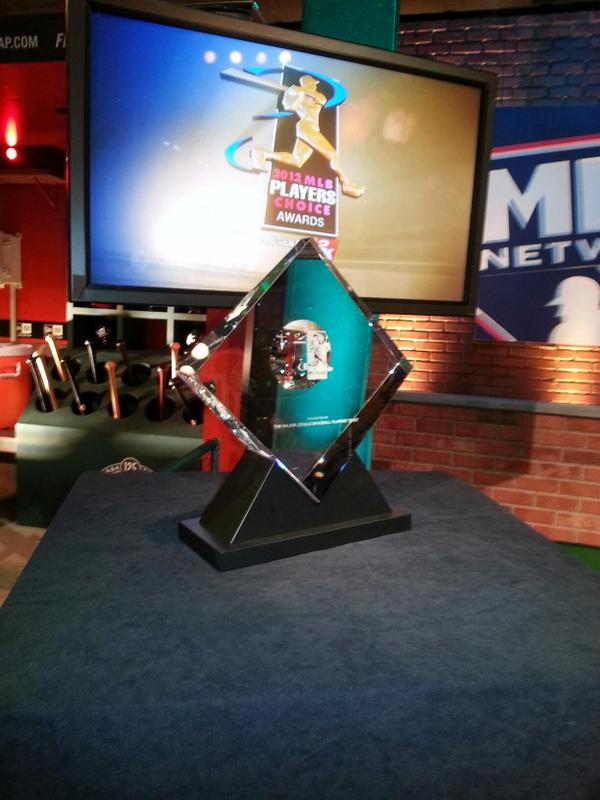 Announcing finalists for 2014 #PlayersChoiceAwards today. RT for chance to win @MLBTheShow 14 for @PlayStation 3 http://t.co/6dAEkRgsR9