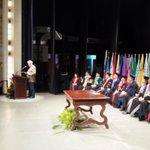 Acto de LUZ 68 años de reapertura. Rodríguez Iturbe dicta discurso en representación de homenajeados http://t.co/JydJjDjwca