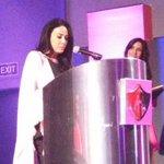 María Laura Medina anuncia las actividades del Atlas en la campaña de la lucha contra el cáncer. http://t.co/B5nucEMVuL