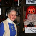 The REAL Lorraine Warren and the REAL Annabelle. Reading the true story is better than that sucky movie. http://t.co/1mkdMWP6Zw