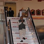 RT @PIB_India: PM Shri @narendramodi arrives at Palam airport, after his US visit #PMUSVisit http://t.co/HDSjQv6Nbu