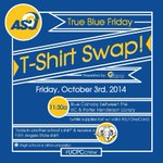 FRIDAY! T-Shirt Swap between the UC & Library! 11:30a while supplies last! #UCPCcrew #AngeloState http://t.co/j58TnQ4RVX