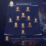 RT @GalatasaraySK: İLK XI: Muslera-Chedjou, Felipe Melo, Semih Kaya-Veysel, Yekta, Dzemaili, Telles-Wesley Sneijder-Pandev, Burak Yılmaz http://t.co/7zV2y3bvVp