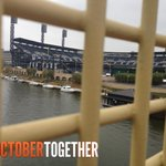 RT @SFGiants: View from the Roberto Clemente Bridge…Today is the Day #OrangeOctober #OctoberTogether http://t.co/VxXu0ktL6g