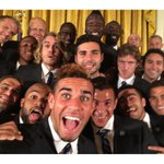 Cant believe they let us in the White House! #Selfie #Champions http://t.co/Zl9l7ctMWK