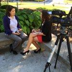 Talking #Ebola w/Doctor at MUSC. @MeaghanLive5 will have story tonight. @MUSCPR #chsnews @Live5News http://t.co/Abs54CppNt