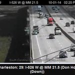 RT @ABCNews4WebGrrl: Looks like that disabled vehicle on I526 at MM21 is on the shoulder - #chstrfc flowing smoothly http://t.co/fQ3HRaCMsH