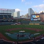 RT @BrettHollander: The #Orioles workout has begun and 1st pitch is less than 24 hours away. http://t.co/yh7XzsZQEo