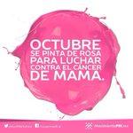 RT @thalizrodarte: Octubre mes en el que debemos unirnos contra el #CáncerDeMama , digamos si a la vida!!! @PRImx_Ags @MovPRIMXOficial http://t.co/lZ441gPmMr