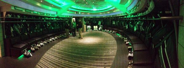 The new locker room complete with LED lights and fascia ring. http://t.co/8V5yx1IaIK