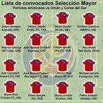 Los convocados de Costa Rica para juegos ante Oman y Corea #LaSele http://t.co/oZKfjHQOhl
